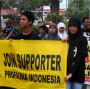 Supporter ProFauna Kampanye di Car Free Day Surabaya