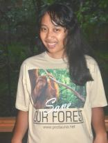 T-shirt Save Our Forest