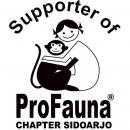 Logo Supporter ProFauna Chapter Sidoarjo